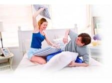 Votre chambre peut en dire long sur votre relation de couple for Chambre de dormir